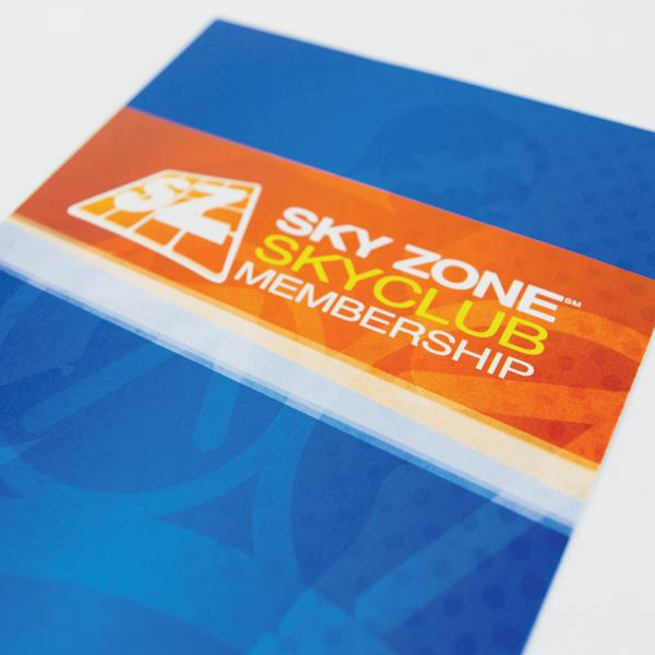 Skyzone Print Materials