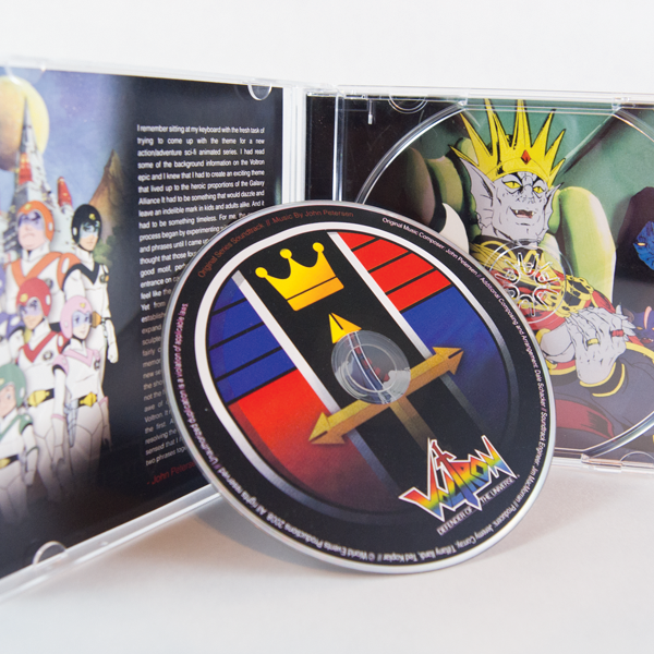 Voltron CD Packaging